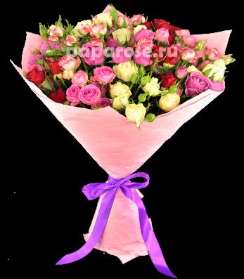 Букет из роз Незабываемое впечатление